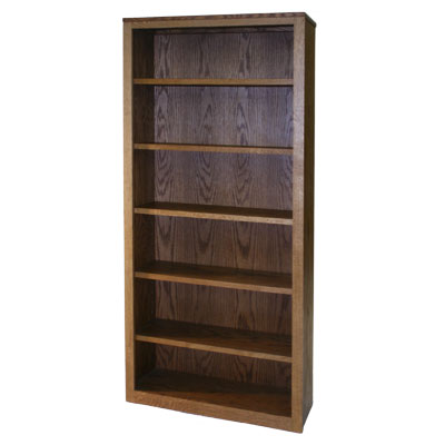 800 Series Qtr Sawn Oak Bookcase