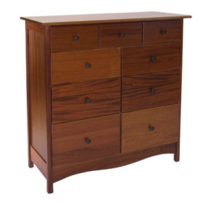 Nine Drawer Bureau