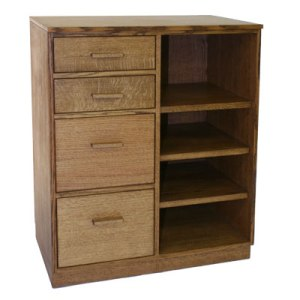 Four Drawer File Shelves