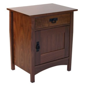 Large Left Nightstand