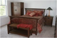 Zimmerman Construction Beaver Lodge Shell Lake, WI Bedroom Walnut / Cherry (Natural)