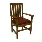 Slat Arm Chair