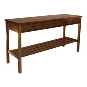 Slat Console Table