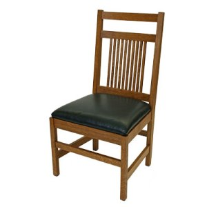 Spindle Side Chair with Craftsman Back