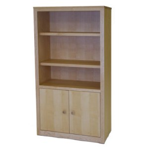 Two Door Entertainment Center in Maple